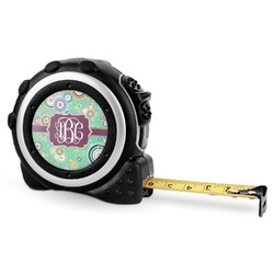 Colored Circles Tape Measure - 16 Ft (Personalized)