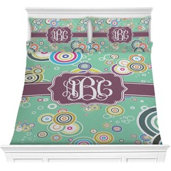 Colored Circles Comforter Set (Personalized)
