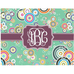 Colored Circles Placemat (Fabric) (Personalized)