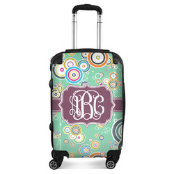 Colored Circles Suitcase (Personalized)