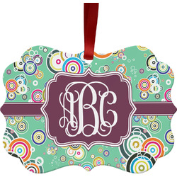 Colored Circles Ornament (Personalized)