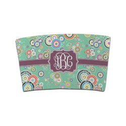 Colored Circles Coffee Cup Sleeve (Personalized)