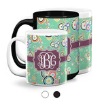 Colored Circles Coffee Mugs (Personalized)