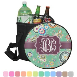 Colored Circles Collapsible Cooler & Seat (Personalized)