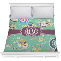 Colored Circles Comforter (Personalized)