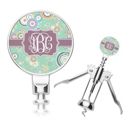 Colored Circles Corkscrew (Personalized)