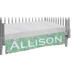 Colored Circles Crib Skirt (Personalized)
