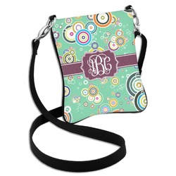 Colored Circles Cross Body Bag - 2 Sizes (Personalized)