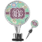 Colored Circles Wine Bottle Stopper (Personalized)