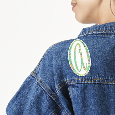 Colored Circles Large Custom Shape Patch (Personalized)