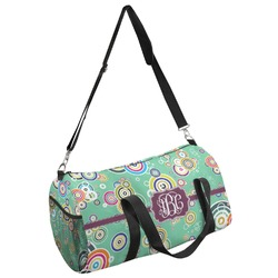 Colored Circles Duffel Bag - Multiple Sizes (Personalized)