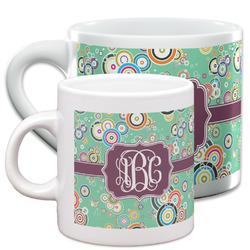 Colored Circles Espresso Cups (Personalized)