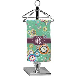 Colored Circles Finger Tip Towel - Full Print (Personalized)