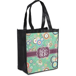 Colored Circles Grocery Bag (Personalized)
