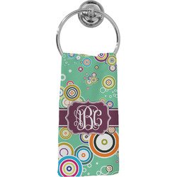 Colored Circles Hand Towel - Full Print (Personalized)