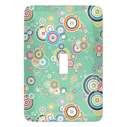 Colored Circles Light Switch Covers (Personalized)