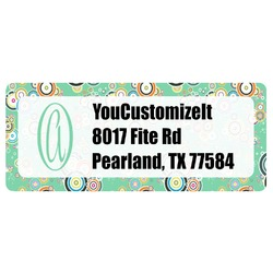 Colored Circles Return Address Label (Personalized)