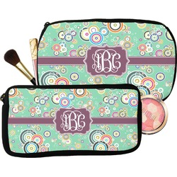 Colored Circles Makeup / Cosmetic Bag (Personalized)