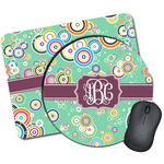 Colored Circles Mouse Pads (Personalized)