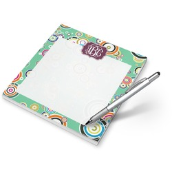 Colored Circles Notepad (Personalized)