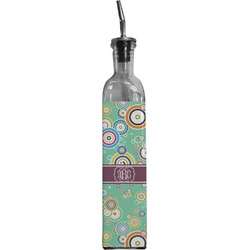 Colored Circles Oil Dispenser Bottle (Personalized)