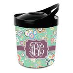 Colored Circles Plastic Ice Bucket (Personalized)