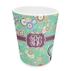 Colored Circles Plastic Tumbler 6oz (Personalized)