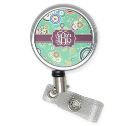 Colored Circles Retractable Badge Reel (Personalized)