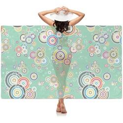 Colored Circles Sheer Sarong (Personalized)