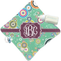 Colored Circles Security Blanket (Personalized)