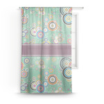 Colored Circles Sheer Curtains (Personalized)