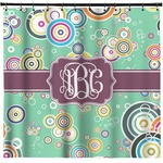 Colored Circles Shower Curtain (Personalized)