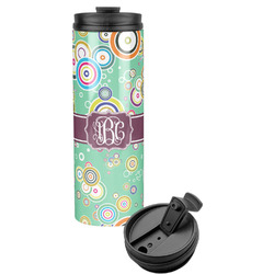 Colored Circles Stainless Steel Tumbler (Personalized)
