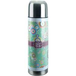 Colored Circles Stainless Steel Thermos (Personalized)