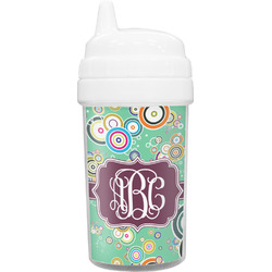 Colored Circles Sippy Cup (Personalized)