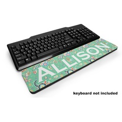 Colored Circles Keyboard Wrist Rest (Personalized)
