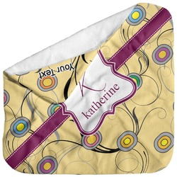 Ovals & Swirls Baby Hooded Towel (Personalized)