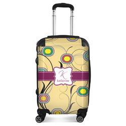 Ovals & Swirls Suitcase (Personalized)