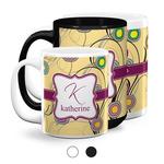 Ovals & Swirls Coffee Mugs (Personalized)
