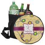 Ovals & Swirls Collapsible Cooler & Seat (Personalized)