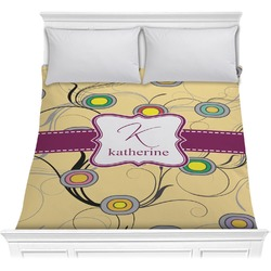 Ovals & Swirls Comforter (Personalized)