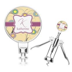 Ovals & Swirls Corkscrew (Personalized)