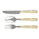 Ovals & Swirls Cutlery Set (Personalized)