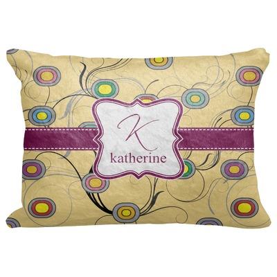 "Ovals & Swirls Decorative Baby Pillowcase - 16""x12"" (Personalized)"