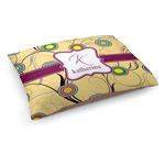 Ovals & Swirls Dog Bed (Personalized)