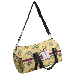 Ovals & Swirls Duffel Bag (Personalized)