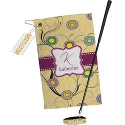 Ovals & Swirls Golf Towel Gift Set (Personalized)
