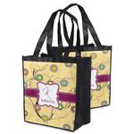 Ovals & Swirls Grocery Bag (Personalized)
