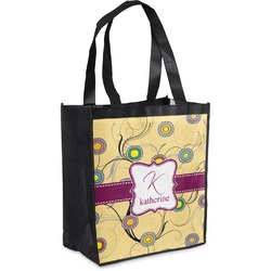 Ovals & Swirls Grocery Bag (Personalized)