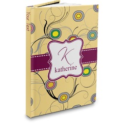 Ovals & Swirls Hardbound Journal (Personalized)